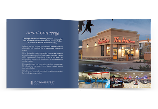 Converge Construction Brochure