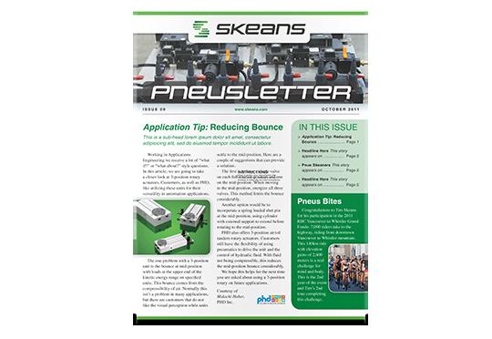Skeans Newsletter